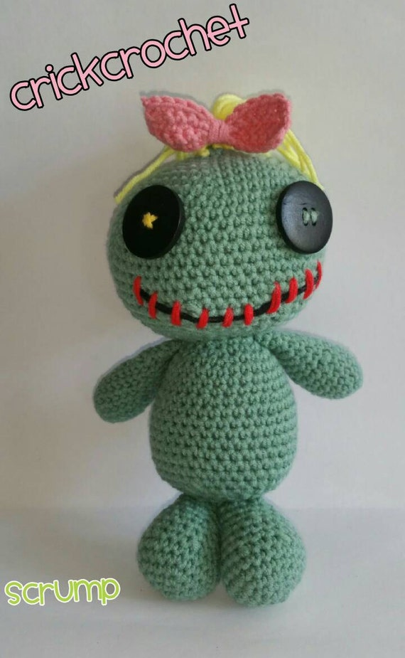 Amigurumi Lilo And Stitch : Scrump doll Lilo and Stitch. Amigurumi handmade.