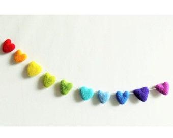 SYO Rainbow Heart Garland