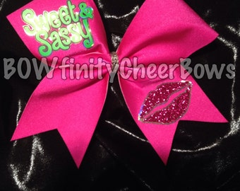 Sweet & Sassy Cheer Bow