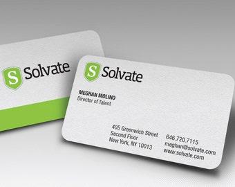 "250+ 2"" X 3.5"" 16PT Round Corner Business Cards , RCustom Business Cards, Custom Calling Cards, Calling Cards, Custom Design"