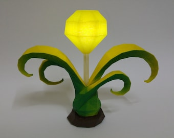 3D Printed LED Yellow Trinket Ward League of Legends