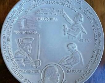 Bi-Centennial Collector Plate