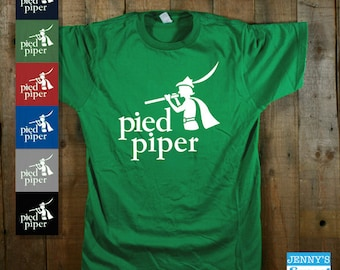 Pied Piper T-Shirt | Silicon Valley Shirt | TV Show Apparel | Pop Culture Tee
