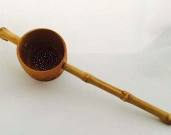 Hand crafted Bamboo Tea Strainer