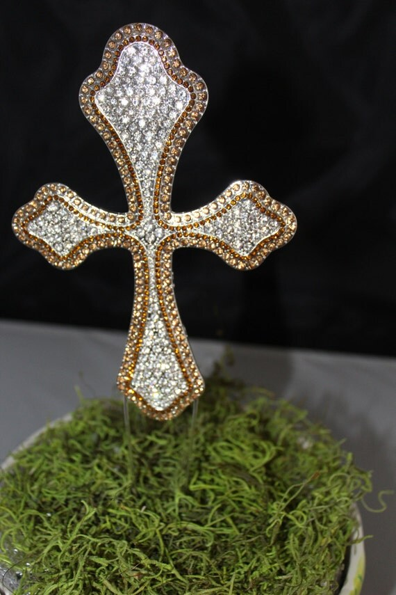 cross cake topper gorgeous cross cake topper rhinestone cross various 3193