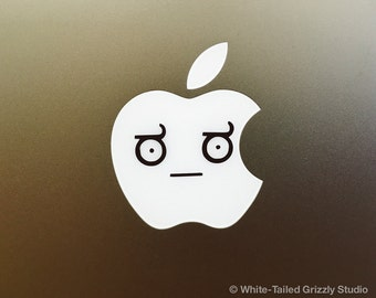 LOOK OF DISAPPOINTMENT Meme Macbook Decal - Macbook Apple decal - Macbook Apple light cover - Mac Decal - Apple Laptop Decal - Meme Decal