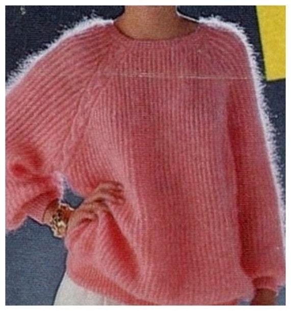 Instant Download Pdf Vintage Knitting Pattern To Make