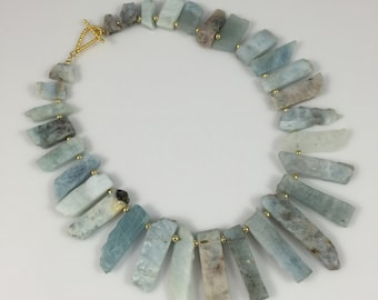 Aqua Inca Necklace