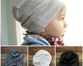 Slouchy Beanie - 3 colors to choose from - trendy unisex hipster baby beanies baby hat