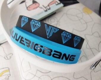 Bigbang big bang VIP ALIVE KPOP Group Korea Wristband Bracelet 2PCS