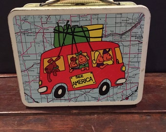 1972 See America Lunch box