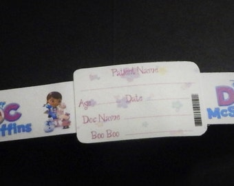 Doc McStuffins Inspired Patient Wristband
