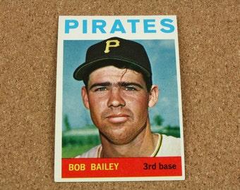 Bob Bailey 1964 TOPPS Baseball Card - Card Number 91 - Near Mint - Mint Condition