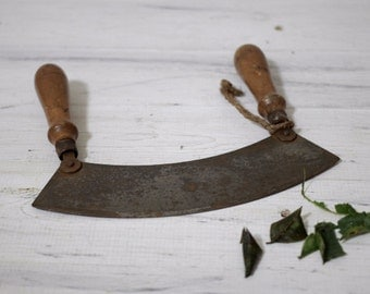1960s Vintage Herb Chopper with Movable Handles
