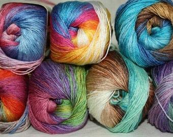 DİVA BATİK Alize 100% acrylic microfiber  for crochet and knitting 100g - 350m