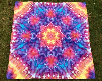 Ice Dye Tapestry