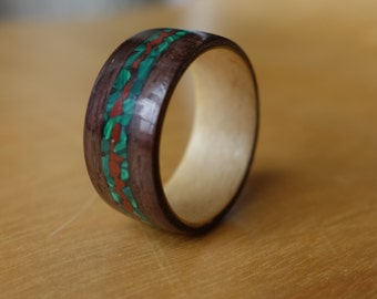 Handmade Rosewood Wooden Ring