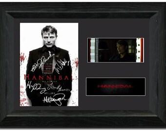 Hannibal 35 mm Framed Film Cell Display Framed Signed Dr. Hannibal Lecter