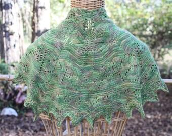 shawl, shawls, green shawl, green shawls, hand knit shawls, knit shawls, shawlettes, scarves, knit scarves, knit shawlettes,