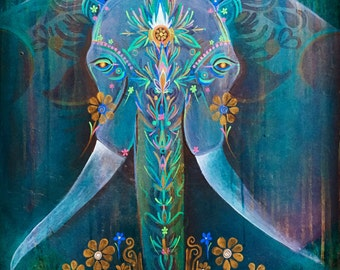 Stevie Ophelia Original Art Print