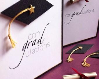 ConGRADulations! Handmade Graduation Greeting Card