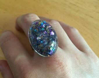 Glass Stardust ring