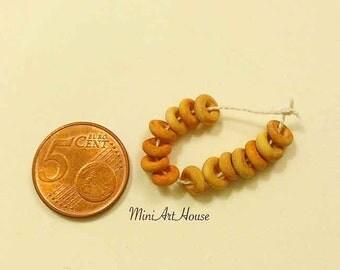 Miniature bagels