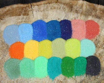 Custom Color Mixed Sand