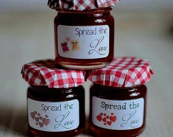 Jam Jar Wedding Favour x50