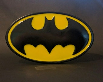 Classic rubber Batman chest emblem