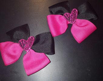 Heart Mini Bows set