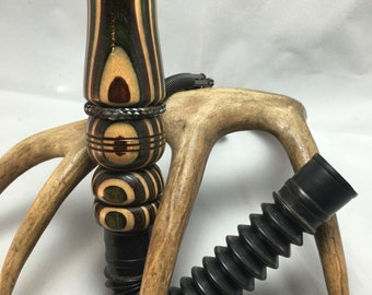 Camo Laminate Deer Call with Adjustable Reed and Lanyard ~Available Now!