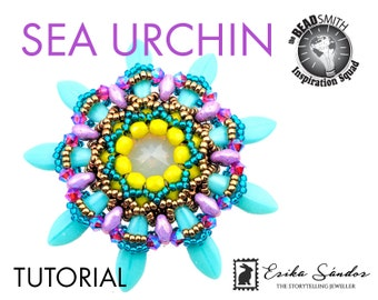 KIT: Sea Urchin pendant