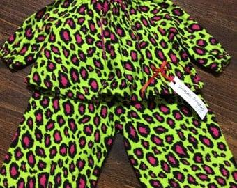 Pink Leopard Pajama
