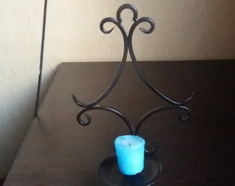 ON SALE Vintage metal candle holder, rustic wall decor, home decor,candlestick