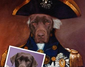 DOG PORTRAIT - Custom Dog Portrait, Custom Cat Portrait