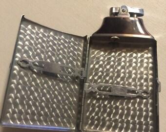 Vintage Ronson Mastercase Lighter and Cigarette Holder