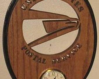 United States Postal Service Oval Clock