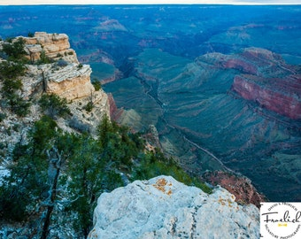 "Magnificent Grand Canyon ""South Rim Chasm"" Fine Art Photograph (9.5"" x 13.25"" print on 14"" x 18"" archival board) Limited Edition Signed"