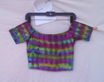 Tie Dye Crop Top (L)