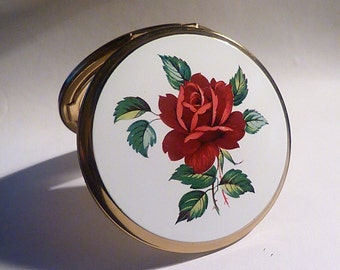 Vintage compact mirrrors Statton powder compacts SOMETHING OLD brides / bridesmaids gifts 1960s