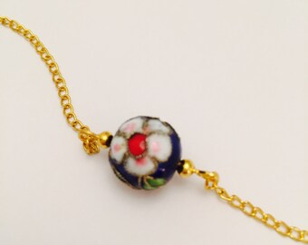 Gypsy flower necklace