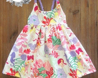 Hummingbird Dress with braided straps