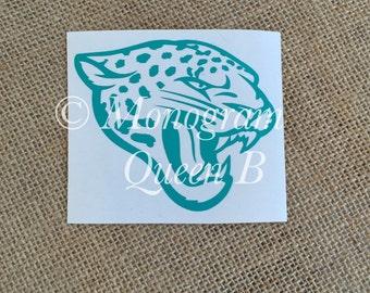 Jaguar Decal, Jaguars, Coffee Mug Decal, Car Decal, Cell Phone Decal