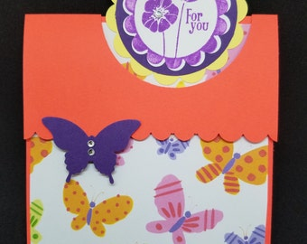 Butterfly Tri-fold Card