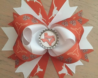 University of Texas hairbow