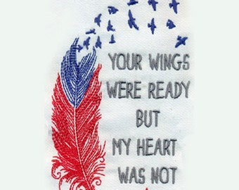 Your wings were ready but my heart was not svgepsaijpeg for Your wings were ready but my heart was not tattoo