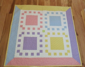 4 Square Baby Quilt