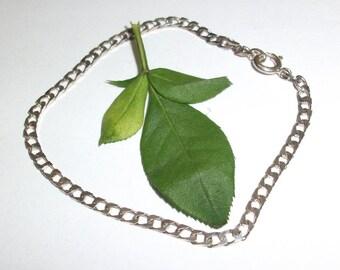 Shell silver bracelet 925 solid SA114