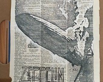 Zeppelin dictionary page
